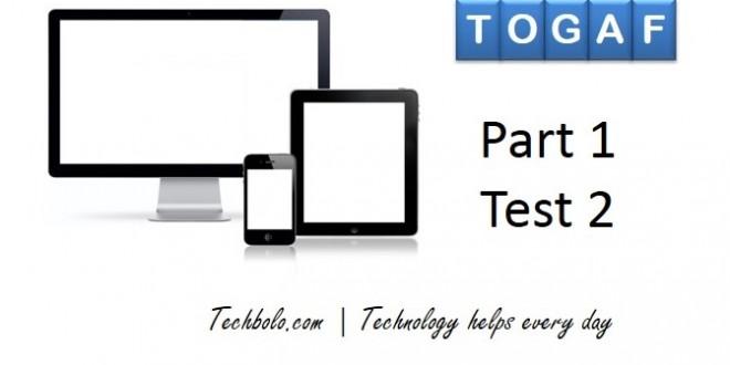 TOGAF Part 1 Test 2