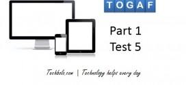 TOGAF Part 1 Test 5